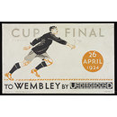 Cup Final To Wembley By Underground (Poster)
