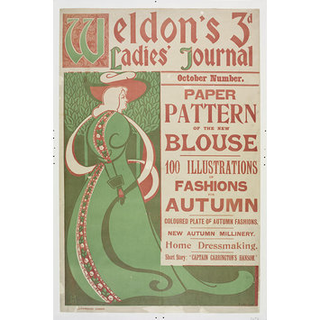Poster - <i>Weldon's Ladies Journal</i> for October