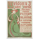 <i>Weldon's Ladies Journal</i> for October (Poster)