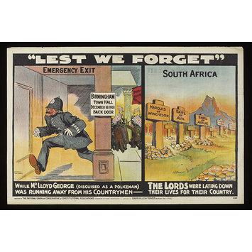 Poster - Lest We Forget