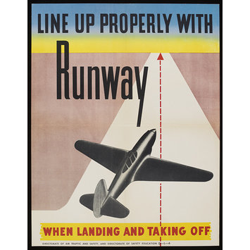 Poster - Line up properly with runway