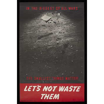 Poster - Let's Not Waste Them.