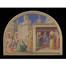 Copy after St Stephen preaching and St Stephen before the Council, Fra Angelico in the Niccoline Chapel (Vatican, Rome) (Watercolour)