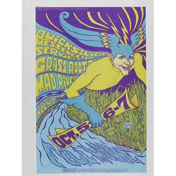 Poster - Bill Graham Presents Quicksilver Messenger Service