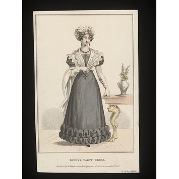 Print - La Belle Assemblée or, Bell's Court and Fashionable Magazine Addressed Particularly to the Ladies