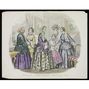 Fashions for London and Paris July 1852 (Print)