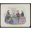Fashions for London and Paris January 1854 (Print)