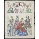 London and Paris Fashions for July 1851 (Print)
