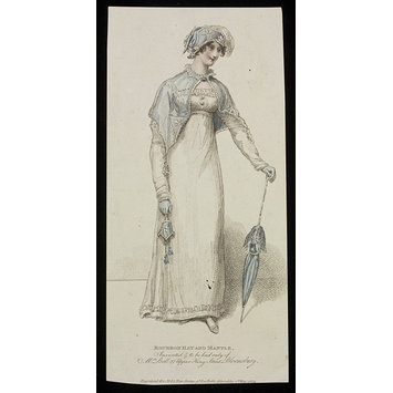 Fashion plate - Bourbon Hat and Mantle