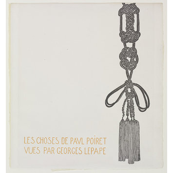 Fashion plate - Les choses de Paul Poiret vues par Georges Lepape
