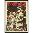 The National Front is a Nazi Front! (Poster)
