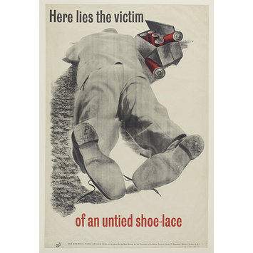 Poster - Swarf Cuts Thin Shoes