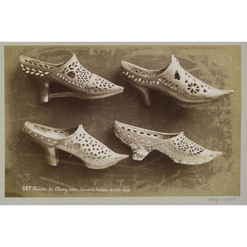 photograph - Shoes in the collections of the Musée de Cluny, Paris