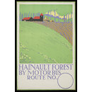 Hainault Forest by Motor Bus (Poster)