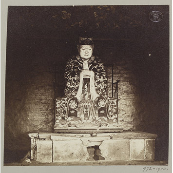 Photograph - Confucius, Canton, April 1860