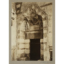 Entrance to mausoleum from the madrasa of Mamluk Amir Khayrbak, Cairo (Photograph)