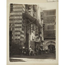 Gamaliyya street and the ottoman wikala of Uda Pasha, Cairo (Photograph)