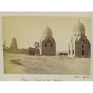 Photograph - The domes of Mamluk Amir Janibak al-Ashrafi and Sultan al-Ashraf Barsbay, Cairo