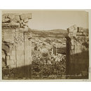 Jordan, Gerasa, Gateway to Temple (inner side) looking over the city (Photograph)