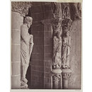 Cathedral, Santiago, Spain, Portico de la Gloria, Sculpture on South wall (Photograph)
