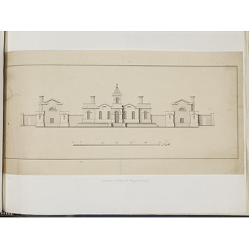 Design - Elevation of The Nunnery, Greenwich