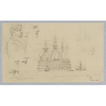 Drawing - Sketches made during the Campaign of 1854-55 in the Crimea, Circassia and Constantinople