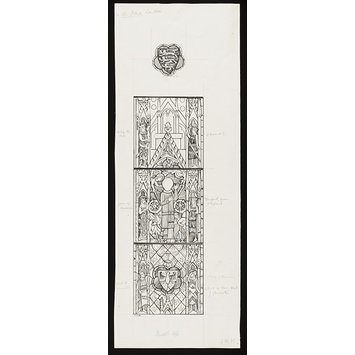 Record drawing of stained glass