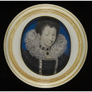 An Unknown Woman (Portrait miniature)