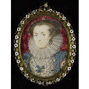 An Unknown Lady (Portrait miniature)