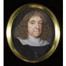 An Unknown Man (Portrait miniature)