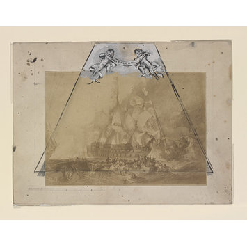 Print - Battle of Trafalgar