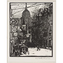 St. Paul's from Fleet Street (Print)