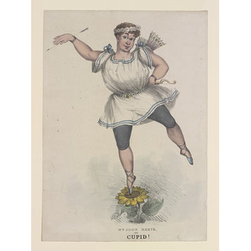 Print - MR JOHN REEVE as CUPID!