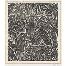 The Chester Play of the Deluge (Woodcut)