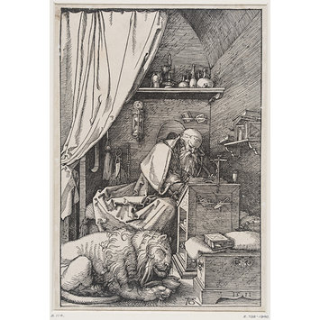 Print - St Jerome in His Cell