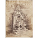 Church of SS. Nereus and Achilleus - Marble Chair or Throne (Photograph)