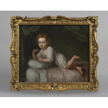 Oil painting - Portrait of Charles Bedford as an infant