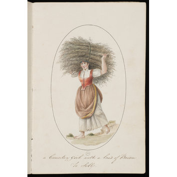 Print - Costume of Madeira, 1805