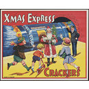 Xmas Express Crackers (Christmas cracker label)