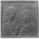 Christ and St. John the Baptist as Children (Panel relief)