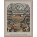 Interior of the Crystal Palace at Sydenham Opened by Her Majesty 10th June 1854 (Print)