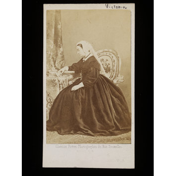 Photograph - Portrait of Queen Victoria