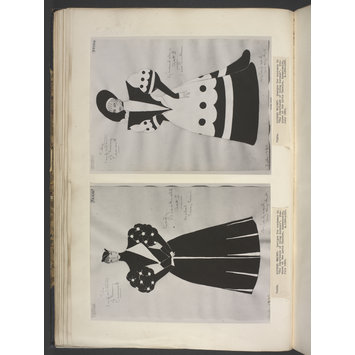 Print - design for Miss Mabel Terry-Lewis as Lady Bracknell
