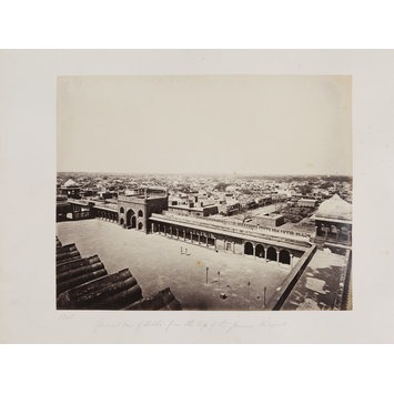 photograph - 1345 - General View of Delhi from the top of the Jamma Masjid