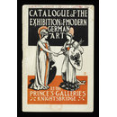 A catalogue of the works of contemporary German artists in London : exhibited at Prince's Gallery, Knightsbridge : May and June 1906 (Exhibition catalogue)