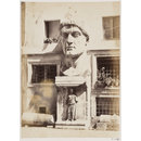 Sculpture - Colossal Head of Domitian, now in the Courtyard of the Palazzo de' Conservatori on the Capitol (Photograph)
