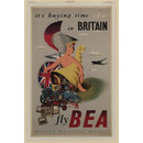 It's buying time in Britain fly BEA (Poster)