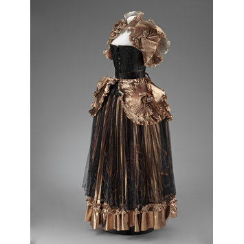 Ballgown - Renaissance Cloth of Gold Crinoline