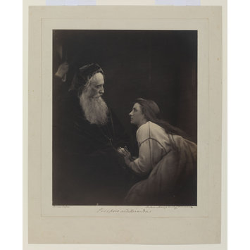 Photograph - Prospero and Miranda