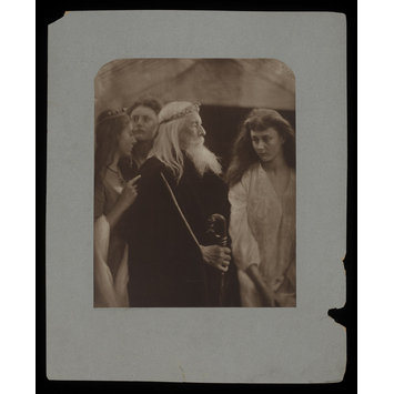 Photograph - King Lear allotting his kingdom to his three daughters